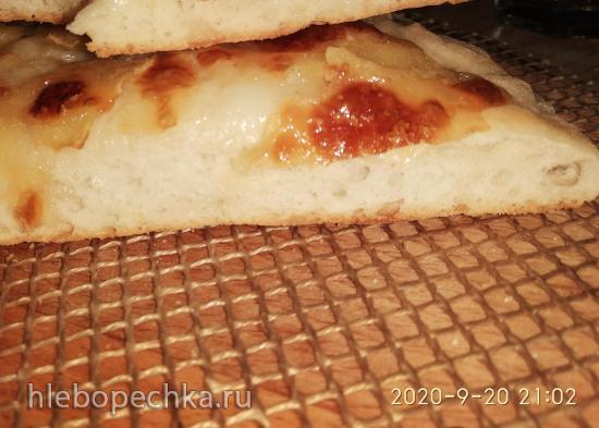 Лепешка с яблоками и сыром (пицца-мейкер Princess 115000 )