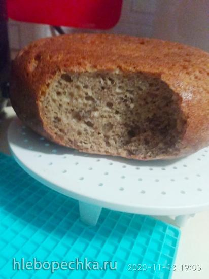 Шведский ночной хлеб  «Ленивка»  (без замеса)