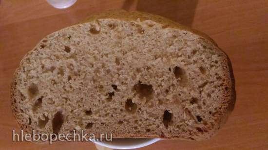 Цельнозерновой содовый хлеб (простой) в хлебопечке Panasonic SD-2500