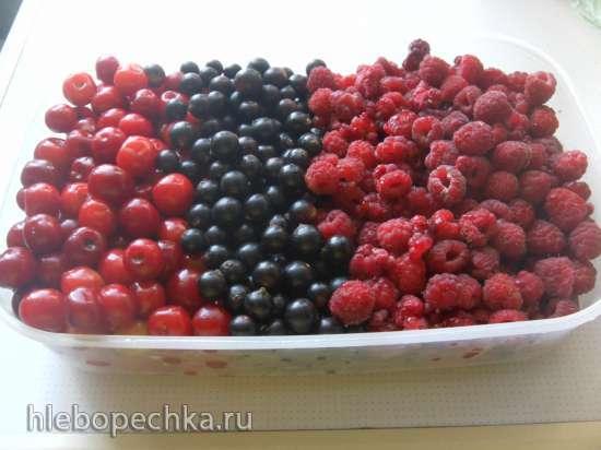 Желе «Ягодка к ягодке»