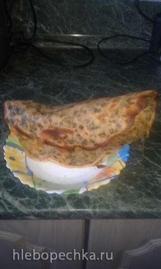 Овощной пирог-блин (пиццамейкер Princess 115000)