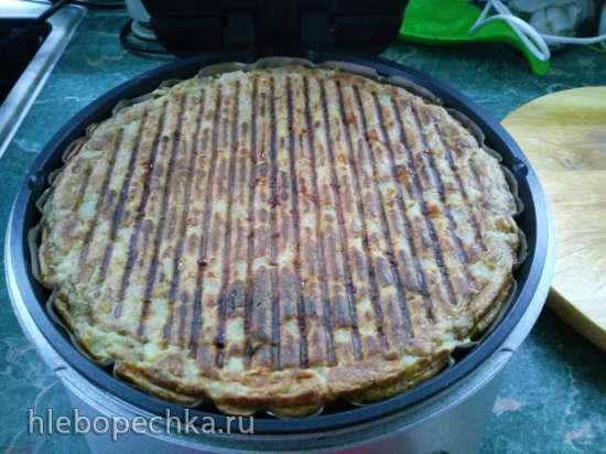 Легкий яблочный пирог-шарлотка