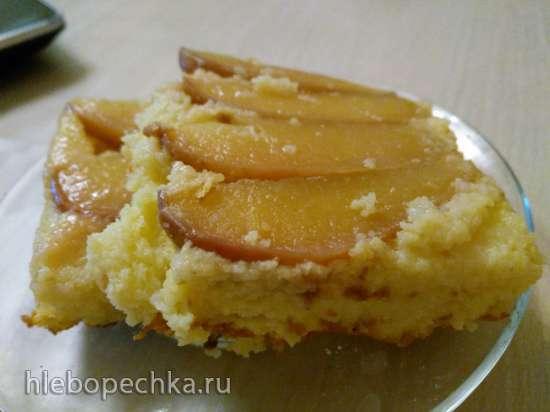Запеканка из поленты с яблоками (Polentaauflauf mit Aepfeln)