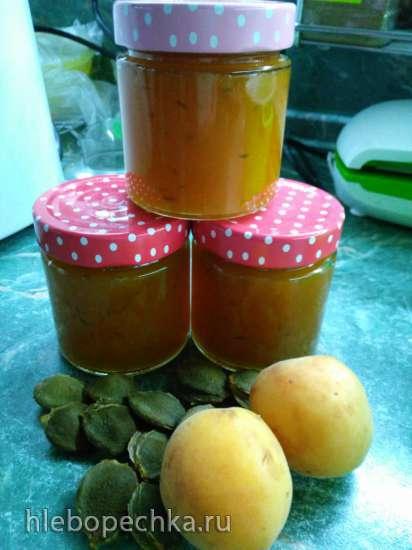 Абрикосовый джем с тмином, как вкусовая добавка к сыру