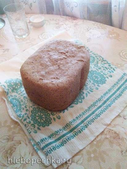 Panasonic SD-2501. Ржано-пшеничный хлеб на молоке.
