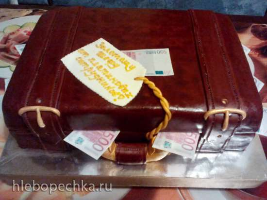Сумки, рюкзаки, мешки, чемоданы (торты)