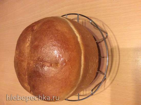 Сметанный хлеб в духовке