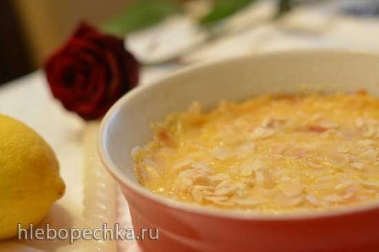 Польский чизкейк с запеченным лимонным кустардом