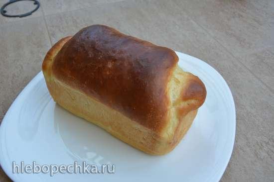 Мягкий картофельный хлеб для сэндвичей