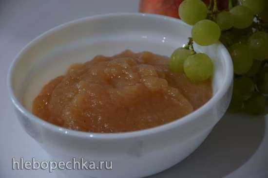 Десертная лазанья с яблоком и тыквой