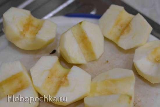 Яблочный французский тарт