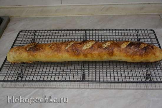 Штрудель со сливой и грецким орехом