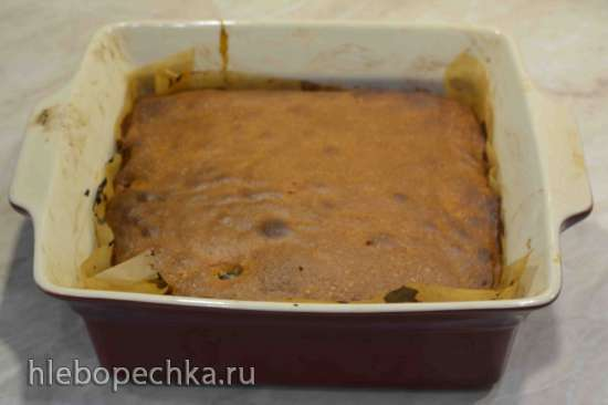 Перевернутый кейк со сливой