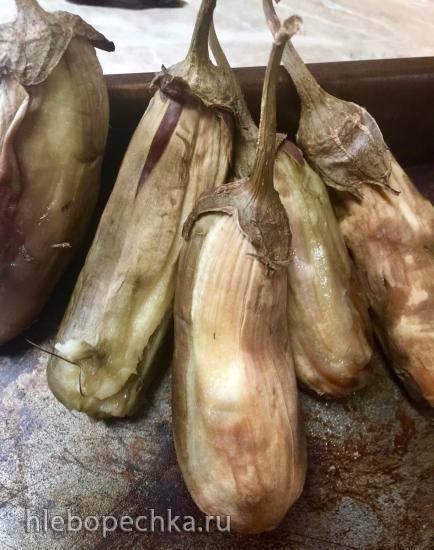 Зразы, фаршированные баклажанами и сыром