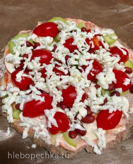 Белковая пицца без теста