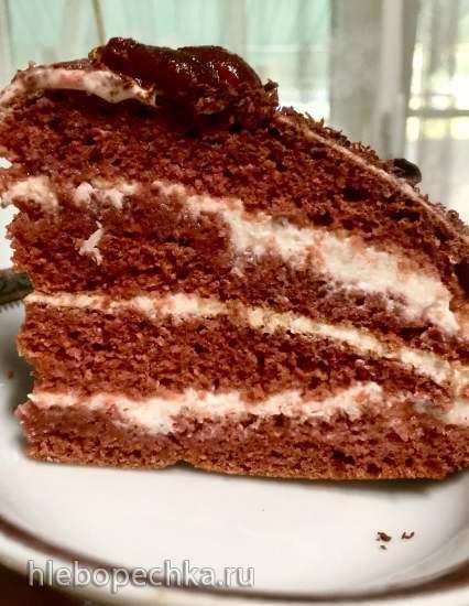 Торт «Красный Бархат» для худеющих