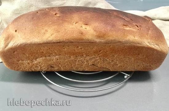 Цельнозерновой дрожжевой сдобный хлеб