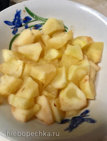Очередной брауни из... яблок