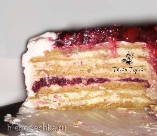 Торт медовик песочный