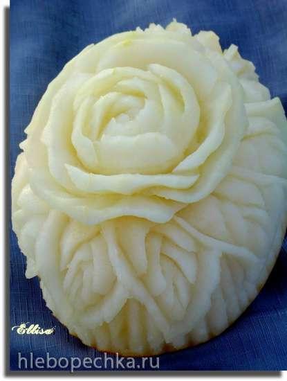 Декоративная резка по овощам и фруктам - карвинг