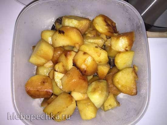 Запеченная шейка с картошкой (скороварка Steba DD1)