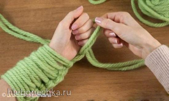 Вязание... пальцами