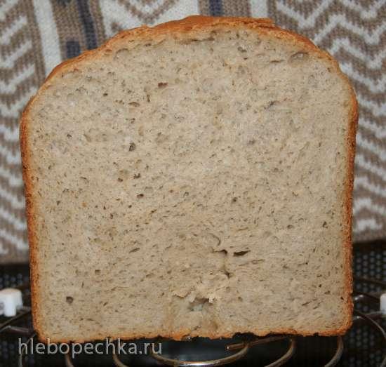 Гречневый хлеб Пушистый (хлебопечка)