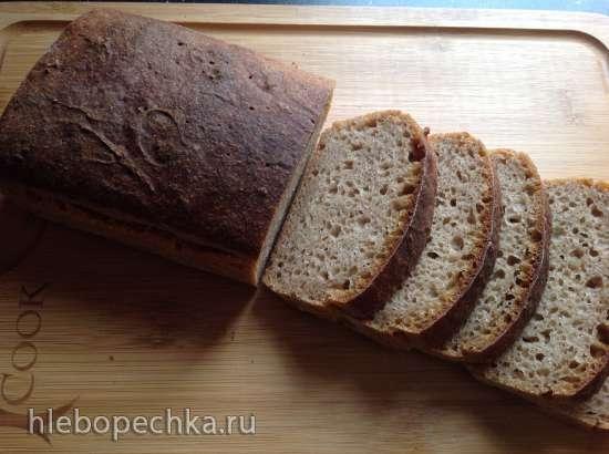 Хлеб ржано-пшеничный на закваске