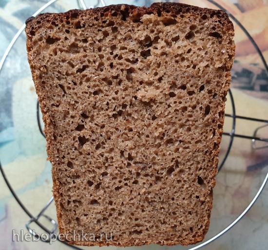 Хлеб ржано-пшеничный 100% цельнозерновой