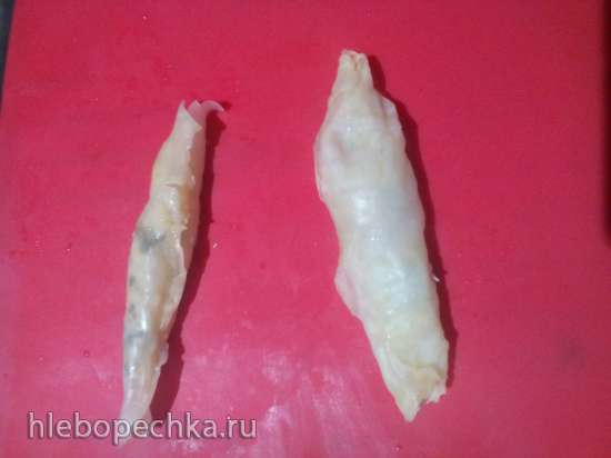 Капустные ушки с творогом (по мотивам рецепта Ганны Грабовской) в Tortilla Chef 118000 Princess