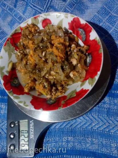 Караси по-хмельницки по мотивам рецепта Ганны Грабовской (прибор для выпечки Tortilla Chef 118000 Princess)