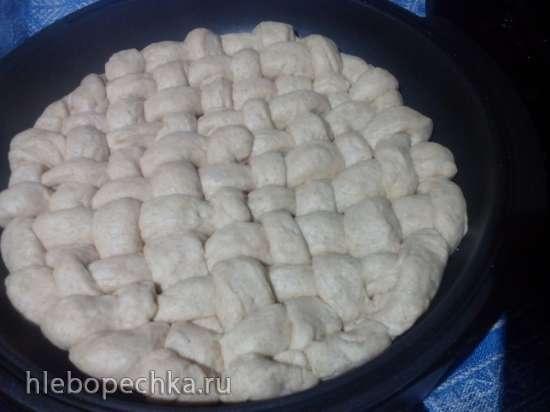 """Хлеб """"Пшенично-ржаной на закваске"""" (прибор для выпечки Tortilla Chef 118000 Princess)"""