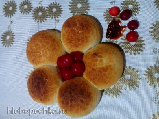 Пирожки с вишней Дикие кошечки (прибор для выпечки Tortilla Chef 118000 Princess, мини-печь DeLongy XU 440, аэрофритюрница Philips HD 9220/20)
