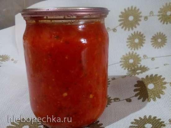 Аджика из болгарского перца