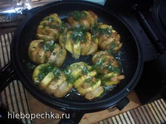 Картофель салополосатый (прибор для выпечки Tortilla Chef 118000 Princess)