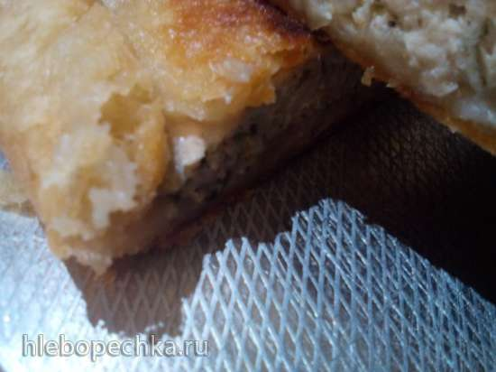 Слоёный пирог с бараниной в пиццепечках Travola и Princess