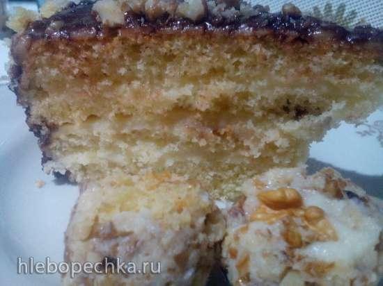 Торт с заварным кремом в мультиварке-скороварке Steba DD2