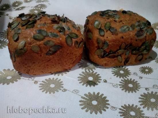 Хлебные булочки с овсяными хлопьями и солодом (Samboussa maker от Princess)