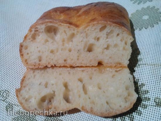 Хлеб пшеничный с плавленым сырком