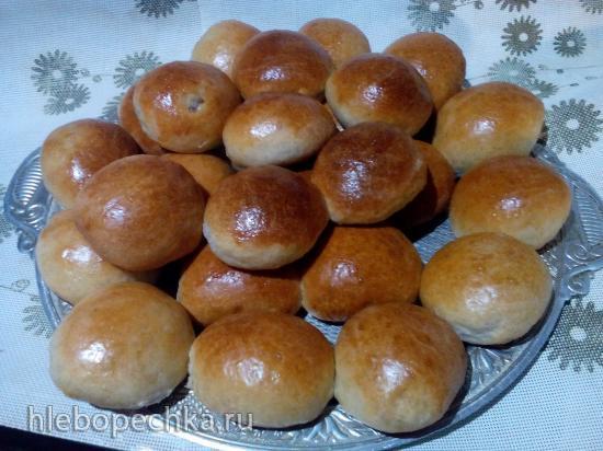 Пирожки с капустой от Марыси (прибор для выпечки Tortilla Chef 118000 Princess)