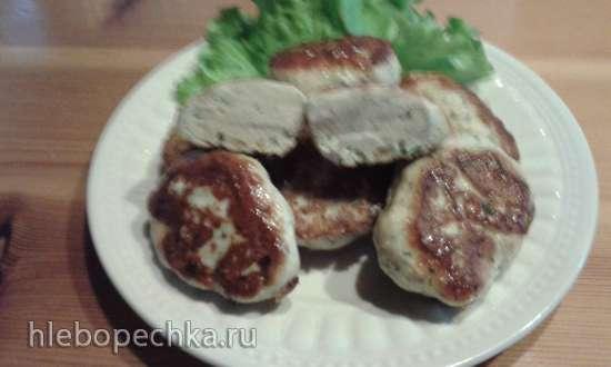 Куриные оладушки как в Икеа (пиццемейкер Tristar PZ-2881)