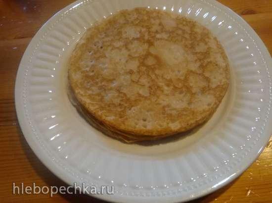Блины  на кефире в погружной блиннице Delimano Pancake Master