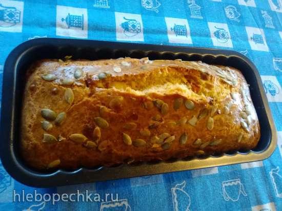 Кекс закусочный с вялеными томатами и сыром