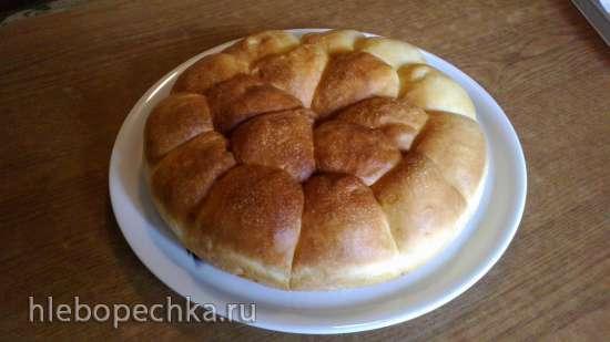 Тесто дрожжевое холодное (без вымешивания)