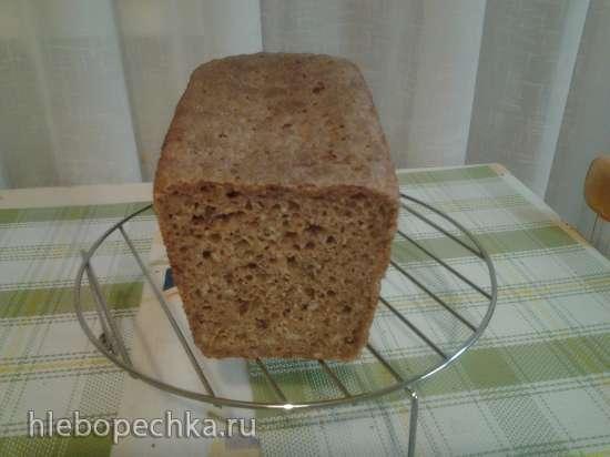 Цельнозерново-ржаной хлеб с семечками