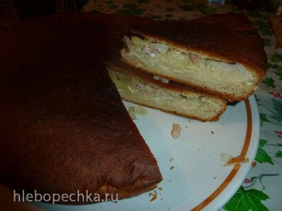 Бабушкин пирог с мясом