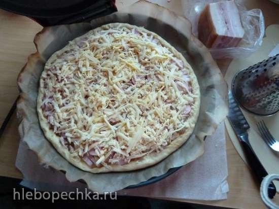 Мамина Пицца на слоёном бездрожжевом тесте в Princess