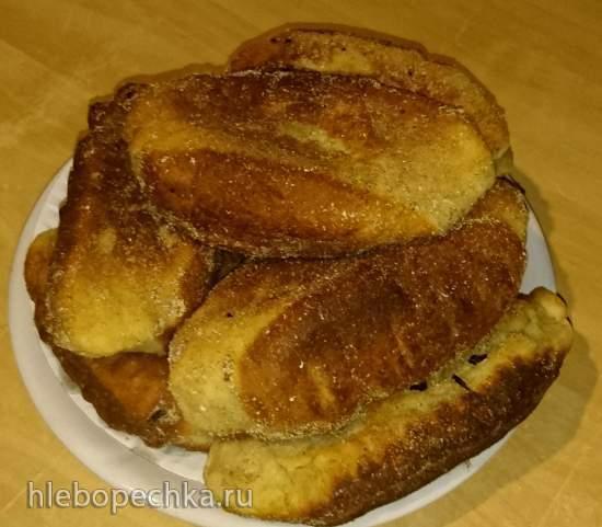 Творожное тесто для жаренных пирожков