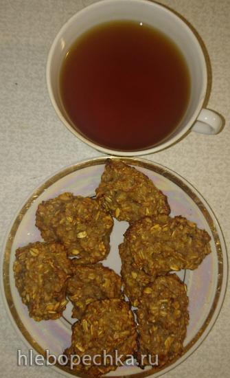 Овсяное печенье с ароматом детства и без жира на боках