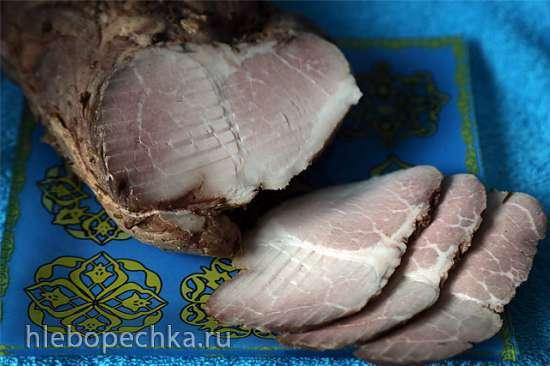 Свиной карбонад в розовом  перце («Су-Вид» Steba DD1 )